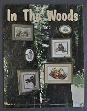 Stoney Creek Coll. In The Woods Needlepoint Pattern Book 14 Woodland Creatures