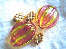 Ovale, Handgefertigtes Künstlerperlen Perlen