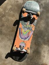 8 in complete Girl skateboard Set Used With Reynolds Trucks And Wheels