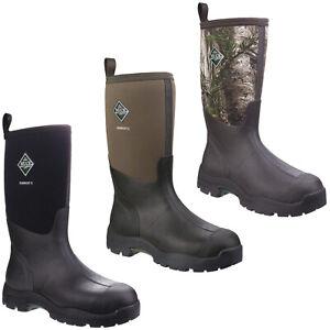 Muck Boots Derwent II Wellington Boots Waterproof All Purpose Field Mens Shoes