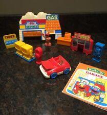 Vintage Tyco Sesame Street Bookville Elmo Garage 1994 Jim Henson Puppets