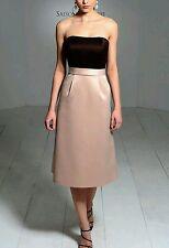 SAISON BLANCHE SZ 10 BRIDESMAID FORMAL COCKTAIL PROM EVENING PARTY SAMPLE DRESS