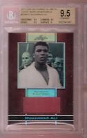 MUHAMMAD ALI THE GREATEST BOXER AUTHENTIC BGS GEM MINT 9.5 EVENT WORN RELIC CARD