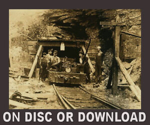 COAL MINING, Mines, Miners - Large Book Collection Scanned to Disc or Download