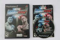 💥 WWE Smackdown vs. Raw 2006 Playstation 2 PS2 Complete NTSC-U/C