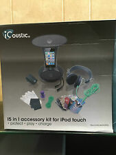 Icoustic I5 in I accessory Kit for iPod touch-IC094 Black