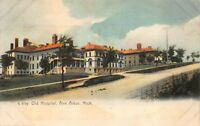 Postcard Old Hospital in Ann Arbor, Michigan~119629