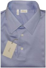 $600 NWT BRIONI PURPLE MERCERIZED COTTON SHORT SLEEVE SLIM POLO SHIRT EU 50 M