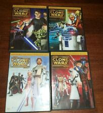 4 DVD STAR WARS THE CLONE WARS STAGIONE 1 COMPLETA