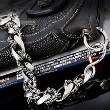 "Guntwo Mens Korean Fashion Jewelry Biker 15"" Compact Jean Wallet Chain C3344 US"