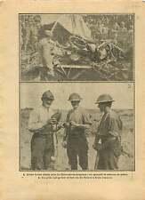 WWI Aircraft Avion Fokker D.V Clermont-en-Argonne la Meuse War 1917 ILLUSTRATION
