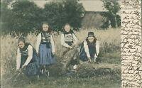 Ansichtskarte Hessische Volkstrachten 1906  (Nr.956) -IV