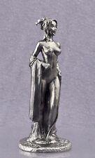Zinnfigur. erotische nackte Gestalt Geisha, Kurtisane. model 1/32.