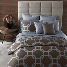 "Oake Vitoria 100% Cotton Euro Pillow Sham 26"" x 26"" Light Blue Msrp $100 B1076"