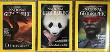 Vintage National Geographic Magazine 3Jan-Feb-Mar 1993 Dinosaurs Maps Foldouts