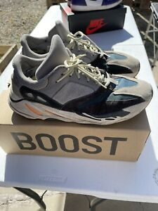 Adidas Yeezy Boost 700 Wave Runner Solid Grey Size 14. B75571 ***USED & WORN***