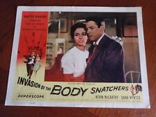 Vintage ~ Invasion of The Body Snatchers~Lobby Card/Movie Poster~11 X 14 in~1956