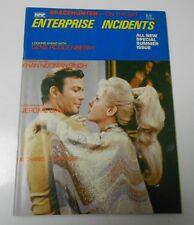 1983 ENTERPRISE INCIDENTS Summer Special FVF & Alien Cook FN+ Star Trek Magazine
