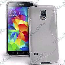 Housse Etui Coque TPU Silicone TRANS Samsung Galaxy S5 Mini G800F G800H / Duos