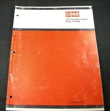 CASE 107 Compact Tractor Parts Manual Book Catalog List S/N 9846801 & After OEM