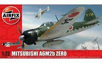 Airfix Model Kit Mitsubishi A6M2b Zero 1:72 Scale WWI Military War Aircraft 1005