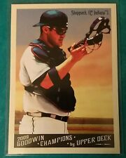 2009 GOODWIN CHAMPIONS KELLY SHOPPACH #157 SP SHORT PRINT CLEVELAND INDIANS CLE