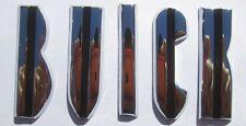 1956 Buick Hood Letters | Die Cast Chrome as Original