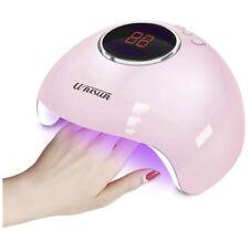 Unisun Pink 24W LED UV Nail Dryer, Gel Nail Polish, Professional Portable