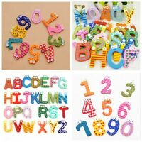 New 26 Magnetic Letters Numbers Childrens Kids Alphabet Spelling Fridge Magnets