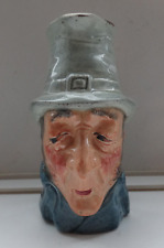 """Vintage Hand Painted Small Character/Toby Jug """"Silas Sly""""- Kelsboro Ware - 8cms"""