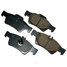 Disc Brake Pad Set-Euro Ultra Premium Ceramic Pads Rear Akebono EUR986
