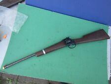 1960's Mattel Shootin' Shell Cap Gun Six Shooter Rifle - Non Working