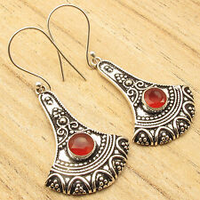 ! Price Start From Just $0.99 Silver Plated Carnelian Earrings ! Jewelry Store