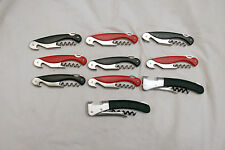 Lot Of 10 OXO Assorted TSA Confiscated Corkscrews - Bottle Openers Lot 168