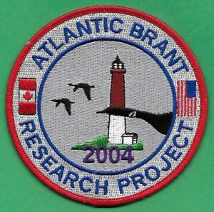 Pa Pennsylvania Game Fish Commission 2004 Atlantic Brant Research Project Patch