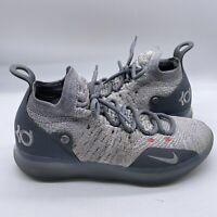 Nike Mens Size 9 US KD 11 Cool Grey Basketball Shoes Model A02604-002 EUR 42.5