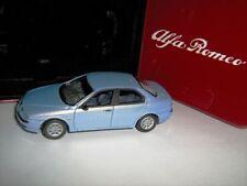 Nice  1/43 Alfa Romeo 156 Sedan Light Blue Solido Tin Box Oulins France