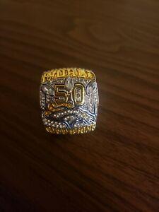 Denver Broncos SB 50 ring. Size 11