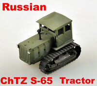 Easy Model Russian 1/72 ChTZ S-65 Tractor Finished Plastic Model #35114
