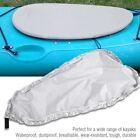 Universal Kayak Canoe Boat Storage Cover Waterproof UV Resistant Dust Grey XL