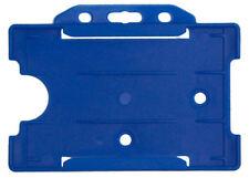 Offener Kartenhalter REKO 14, Blau, Polypropylen, für eine Karte