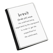 Brexit The Undefined Passport Holder Cover Case Funny Joke Britain Europe EU