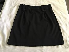 Essentials by ABS Women's Classic Black Skirt 8.