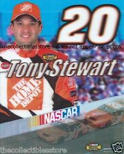 TONY STEWART HOME DEPOT CHEVROLET CHEVY RACING NASCAR CUP 8 X 10 MOTION PHOTO