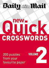 Daily Mail New Quick Crosswords vol 2 BRAND NEW BOOK (Paperback 2008)