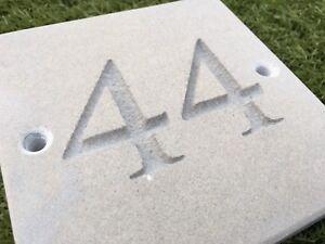 "Sandstone House Sign 6""/6"""