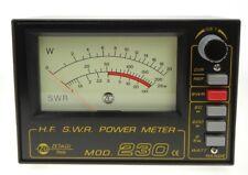 Mod 230 Zetagi SWR/Wattmeter von 2-30 MHz mit sehr grosser Anzeige