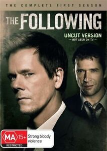 The Following : Season 1 (DVD, 2013, 4-Disc Set)