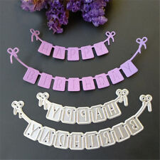 New listing Novelty Scrapbooking Happy Birthday Bow Cutting Dies Craft Embossing Stencils Te
