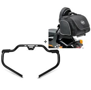 Set Crash bar + Sacoche arriére TM2 pour Harley Softail Sport Glide 18-21 STM14
